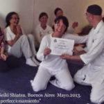 Seminario Seiki Shiatsu dirigido a terapeutas.Dicta Alejandro Cohen.Buenos Aires. Mayo 2013.
