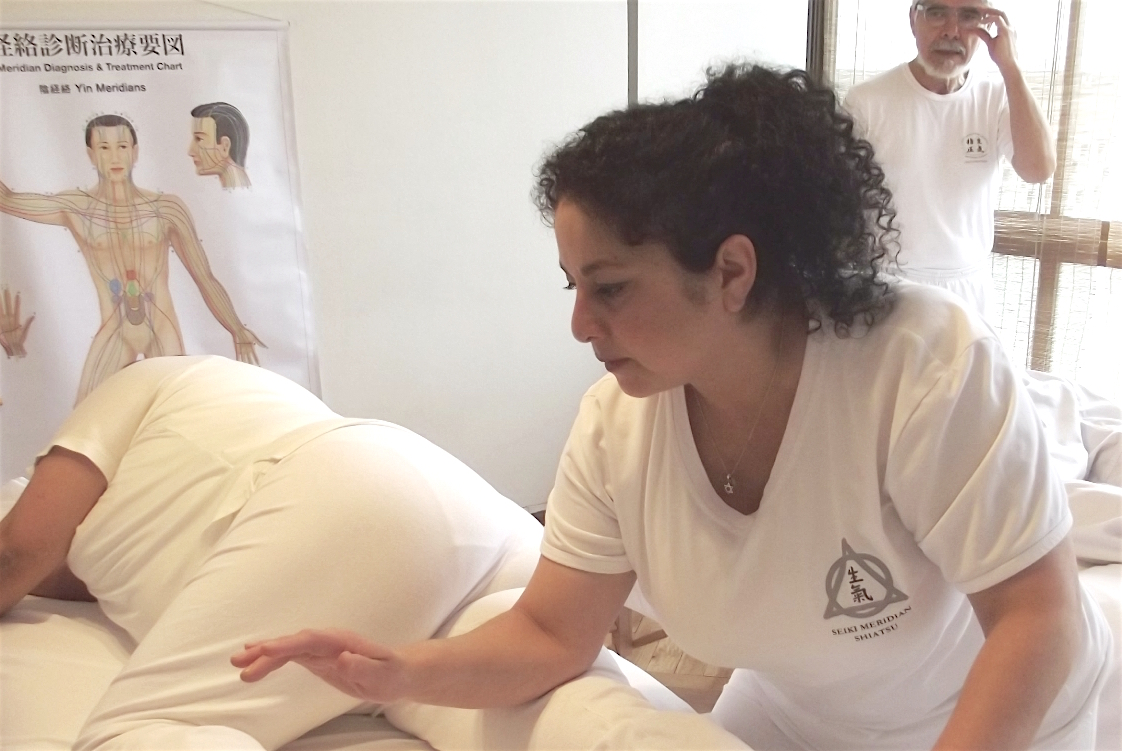 Terapeuta Seiki Shiatsu y Docente de la Escuela